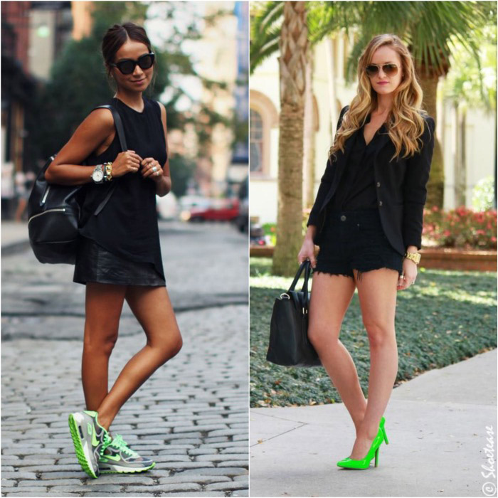outfits-with-green-shoes