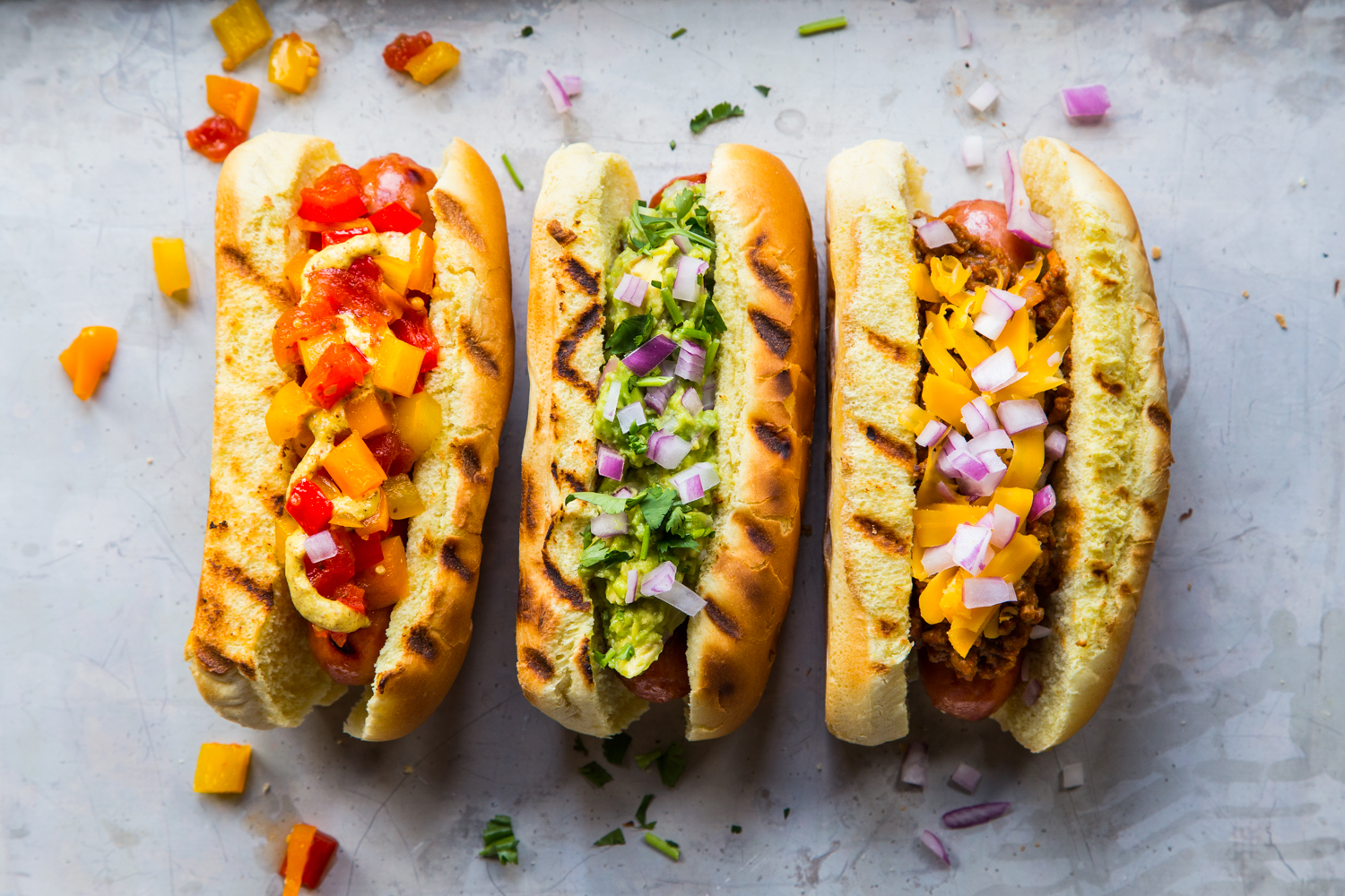 The Happy Diabetic S Healthy Hot Dog Topping Recipes